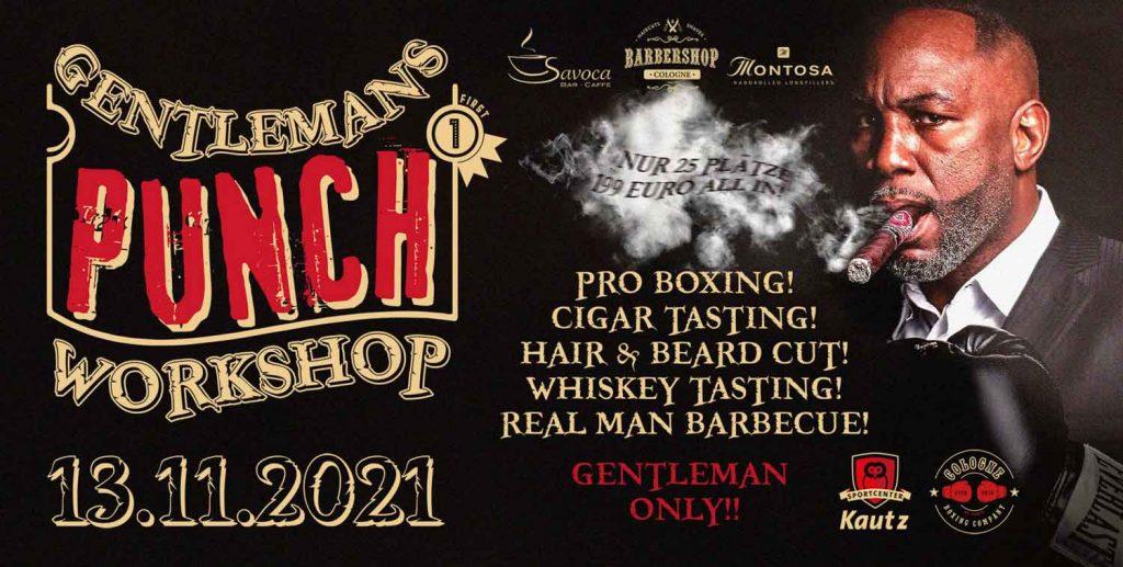 Gentlemens Punch Workshop im Sportcenter Kautz in Köln!
